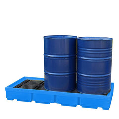 Plastic Drum Spill Pallet - BP3 ||3 drums