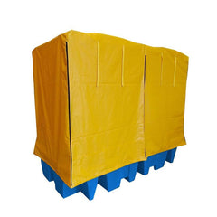 Covered Drum Spill Pallet - BP8C ||For 8 drums