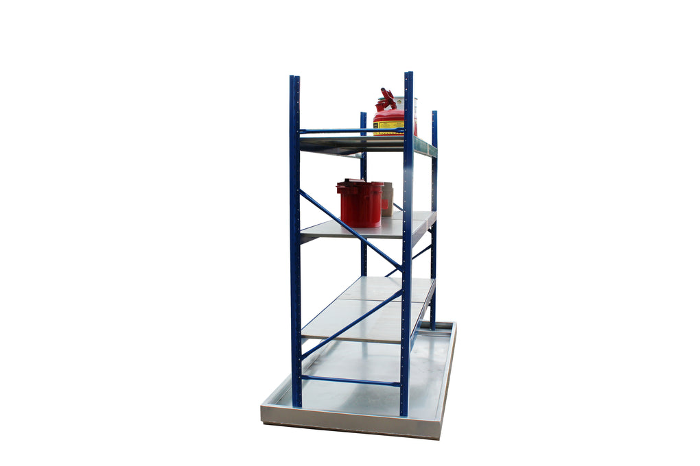 Self Assembly Bunded Racking - BR1 ||180ltr Sump Capacity