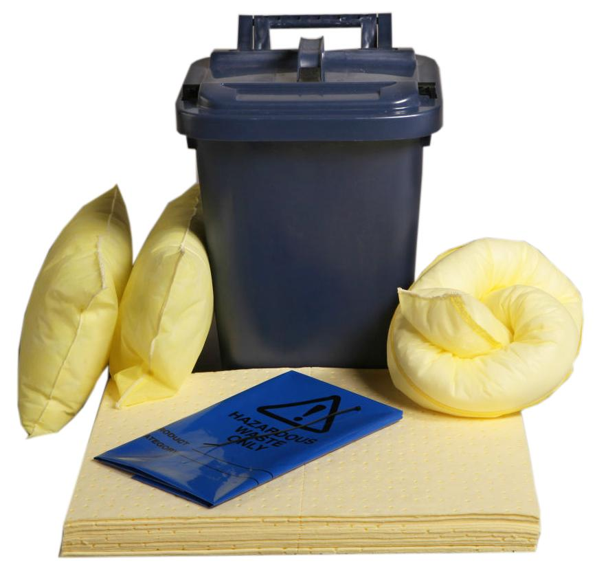 Chemical Spill Kit Caddy Bin - C25SK || 25ltr Absorbency