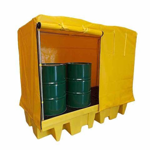 Covered Spill Pallet 8 drums