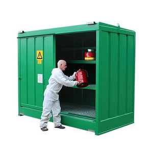 Chemstor® - CS3   ||To Hold 80 Containers or Small Cans