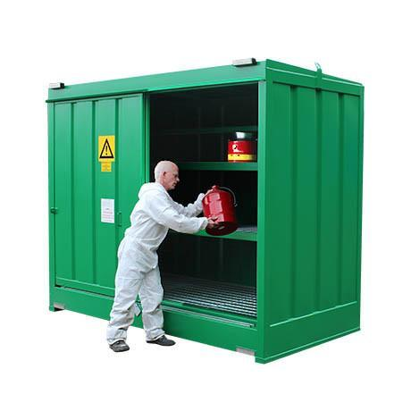 Chemstor® - CS3 Walk-in Store ||To Hold 80 Containers or Small Cans