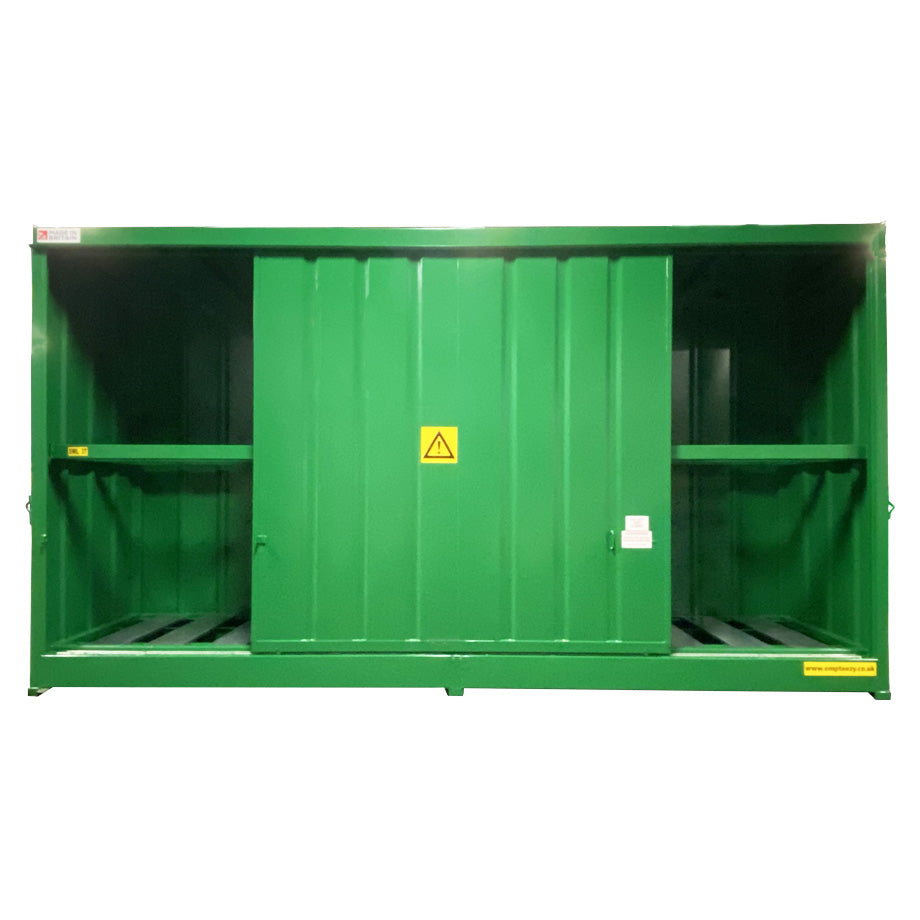 Drum & IBC Store - DPU32-8 ||To Hold 32 Drums or 8 IBC