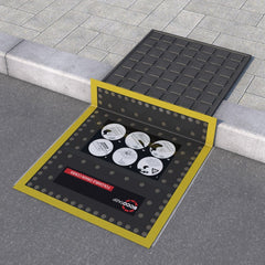 Folding Drain Cover - FDC