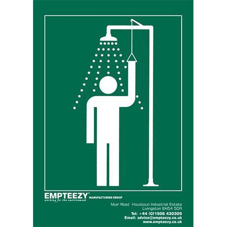 Signage - Shower Sign