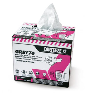 Dirteeze Industrial Multi-Purpose Technical Process Wipes - GRB200 ||200 Wipes