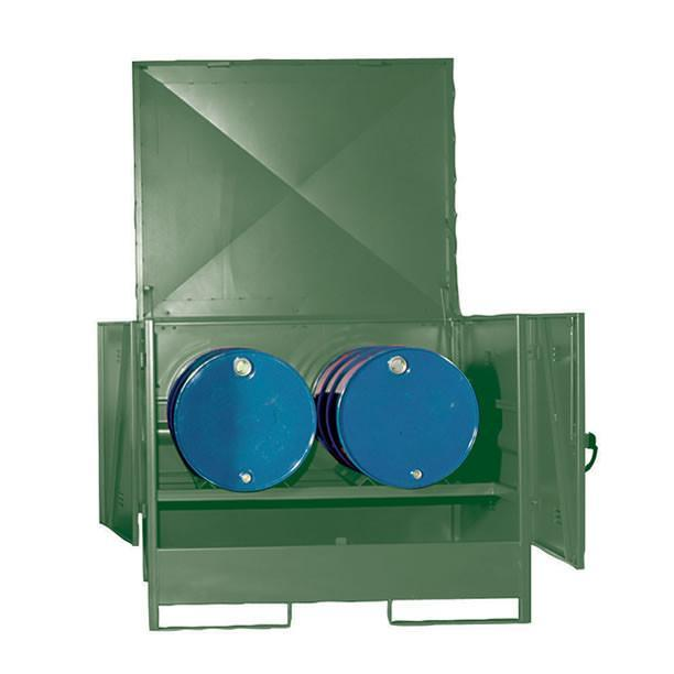 drum and ibc storage part of our bunded storage range