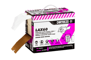 Dirteeze Industrial Multi-Purpose Technical Process Wipes - LAX60B ||150 Wipes