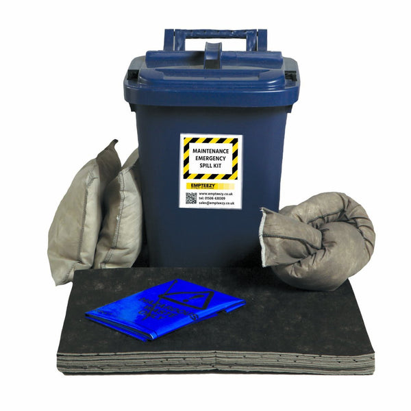 Maintenance Spill Kit Caddy Bin - M25SK || 25ltr Absorbency
