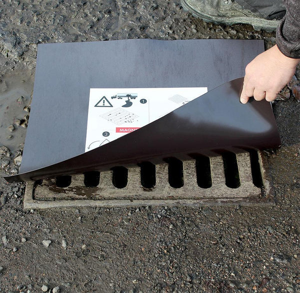 Magnetic Drain Cover & Frame - MDC 03 ||Reusable