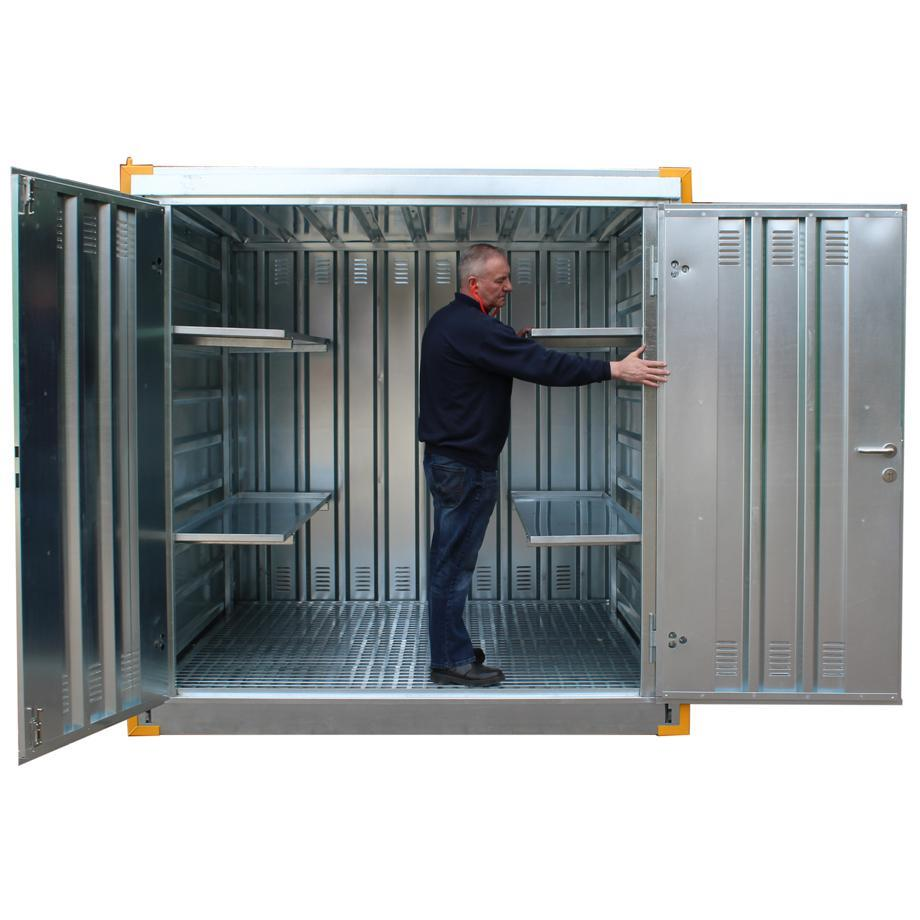 Steel Secure Economy Store - MDL3M ||560ltr Sump Capacity