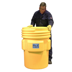 "250ltr Oil Selective Spill Kit With UN ""X"" Rated Overpack - OS250UNSK 