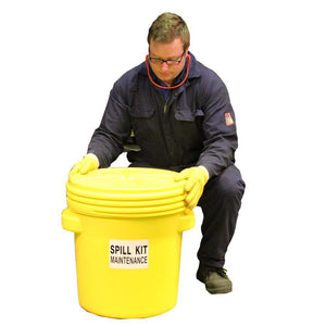"60ltr Oil Selective Spill Kit UN ""X"" Rated Overpack - OS60UNSK 