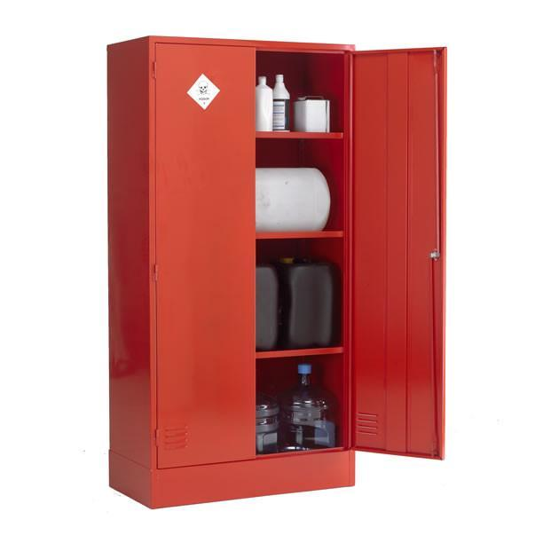 Pesticides & Agrochemical Cabinet - PAC72/36 ||L915mm x W457mm x H1829mm