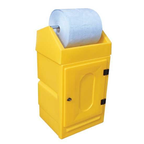 Lockable Cabinet with Roll Holder |