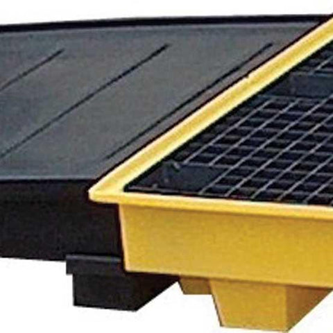 Ramp For use with spill pallet PP4L/PP4LY