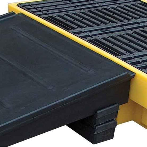Ramp for use with spill pallet PP4FW or PP4FWY