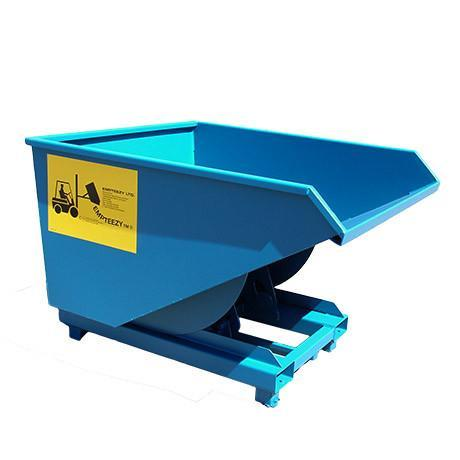 Roll Forward Skip (1.1m³ on Legs) - RFS11L ||L1500 x W1316 x H1050mm
