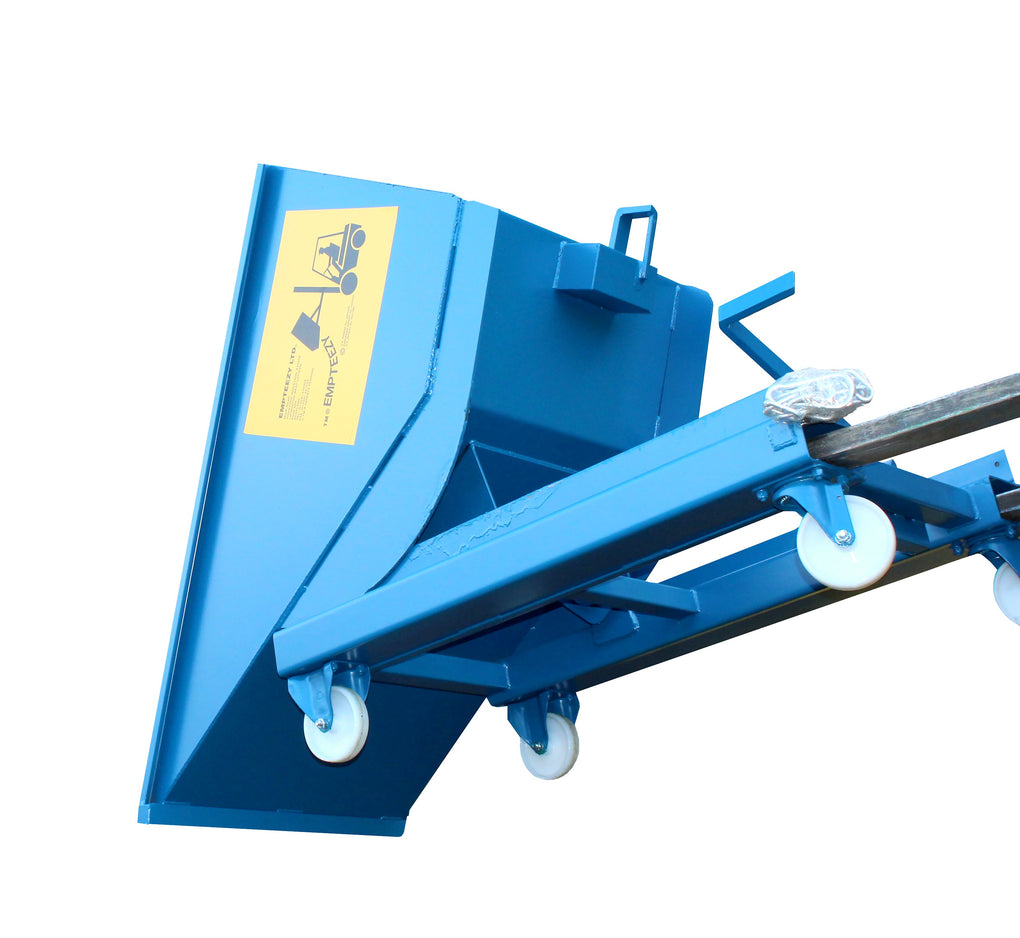 Roll Forward Skip (0.5m³ on Castors) - RFS5C ||L1500 x W815 x H1152mm