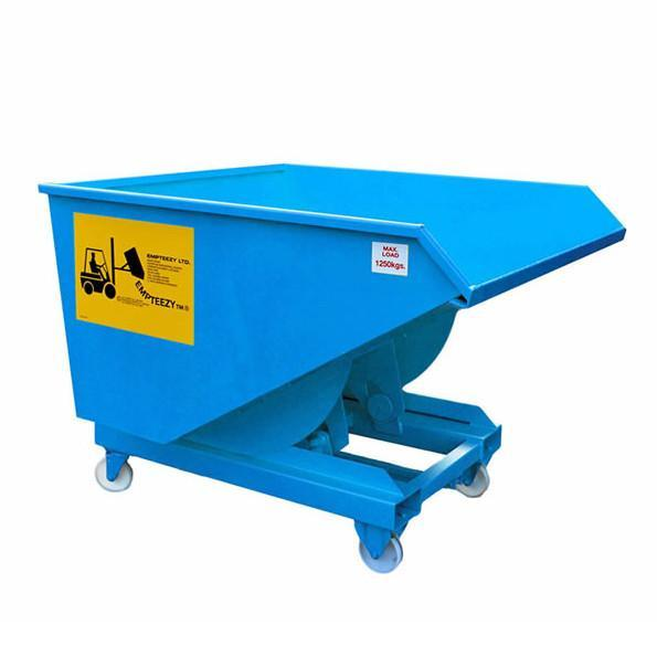 Roll Forward Skip (0.7m³ on Castors) - RFS7C ||L1500 x W1070 x H1152mm