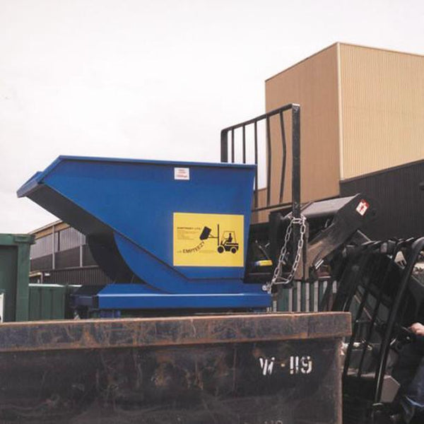 Roll Forward Skip (0.7m³ on Legs) - RFS7L ||L1500 x W1070 x H1050mm
