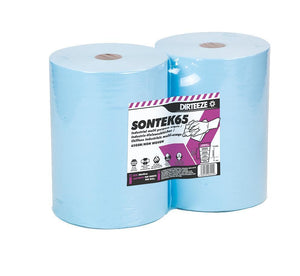 Dirteeze Industrial Multi-Purpose Technical Process Wipes - SONTEK65 ||2 Rolls of 280 Wipes