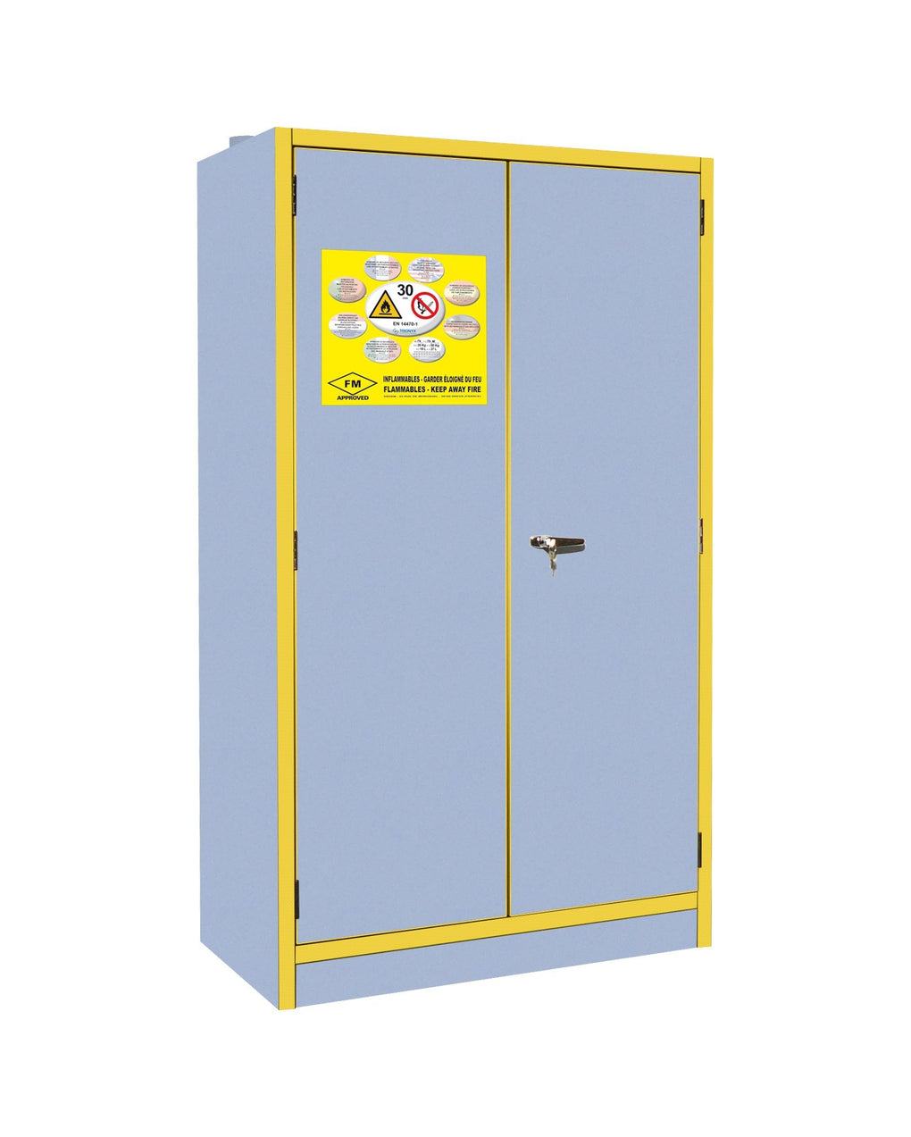 30 Minute 2 Door Fire Rated Cabinet (1980mm High) - 3035E|| 2 Doors