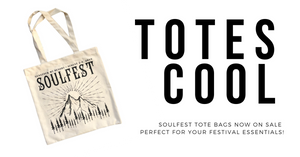 SoulFest Mountain Tote Bags now on sale!