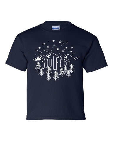Kids Starlight Tee - Navy