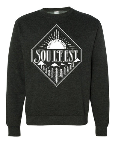 Diamond Sunrise Pullover - Charcoal Heather