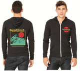 Moon Mountain Zip Up