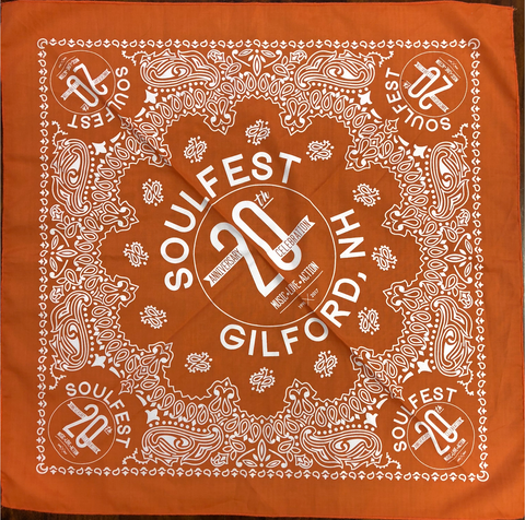 20th Anniversary Bandana