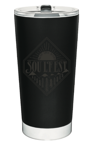 Diamond Sunrise Coffee Tumbler - Black