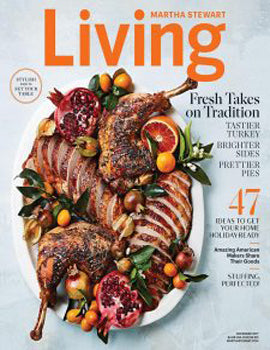 Martha Stweart Living Nov 2017