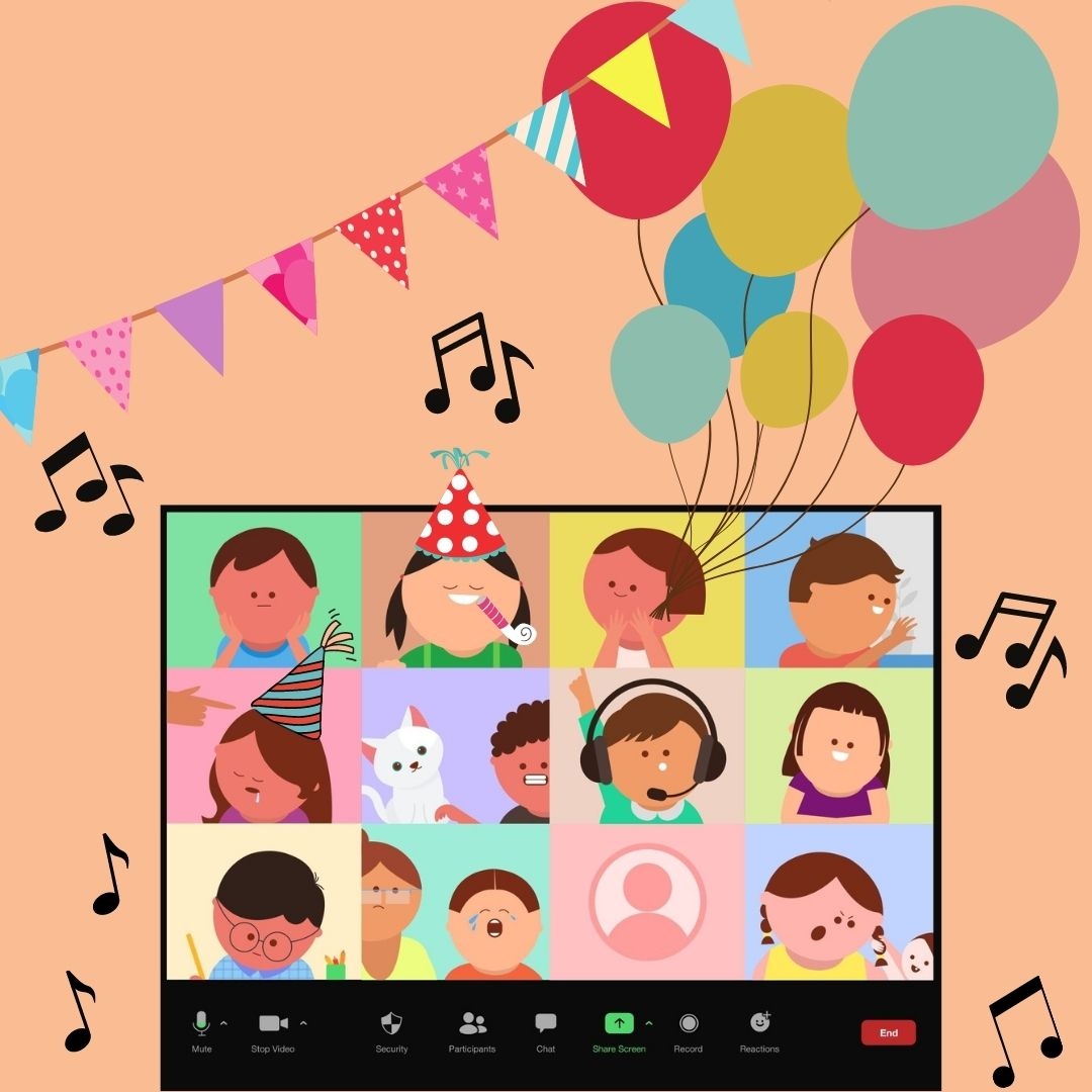 Birthday Party Package (VIRTUAL)