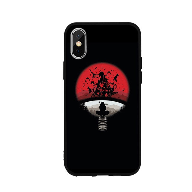 Itachi Uchiha iPhone Case