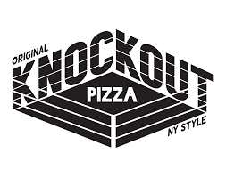 Logo for KNOCKOUT PIZZA located in Dennis Port MA