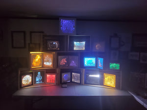 Shadowbox/Lightbox