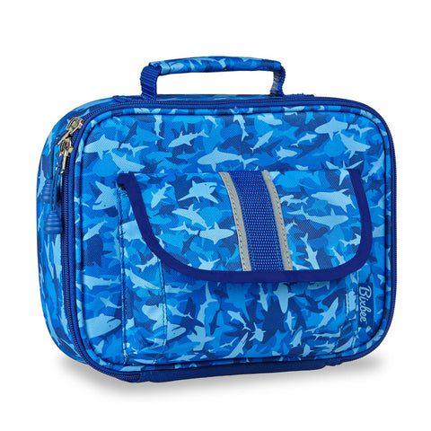 Bixbee Insulated Lunchbox: Shark Camo