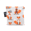 Colibri Large Reusable Snack Bag - Foxes