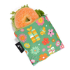 Colibri Large Reusable Snack Bag - Garden