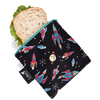 Colibri Large Reusable Snack Bag - Rockets