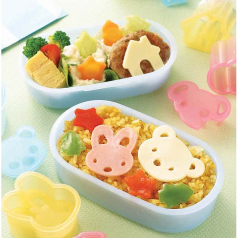 Torune Ham & Cheese Food Cutter Set: Animals