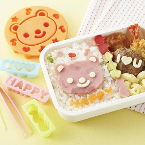 Torune Bear & Messages Ham & Cheese Cutter Set