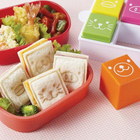 Torune Animal Toy Bread Mold Cutter & Stamper