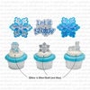 Let it Snow Sparkle (Rings, 6Pk)