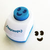 Daiso Japan Nori Punch: Smiley Face (Blue)