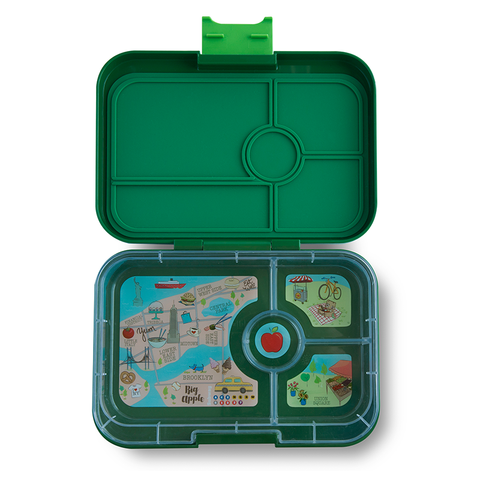 Yumbox Tapas - Brooklyn Green (4-Compartment Tray)