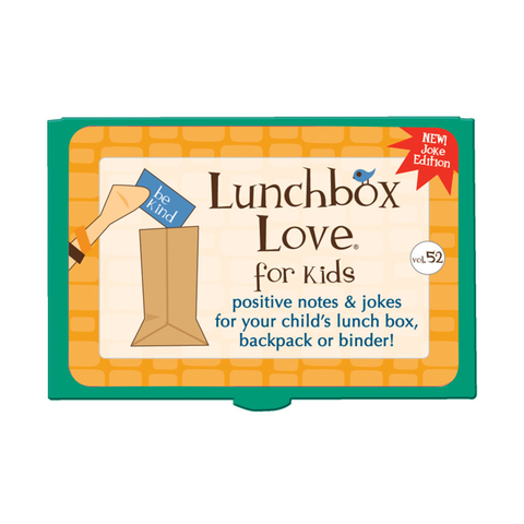 Lunchbox Love® For Kids: Volume 52 (JOKES)